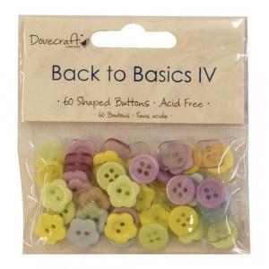 Набор пуговиц Back to Basics IV от Dovecraft
