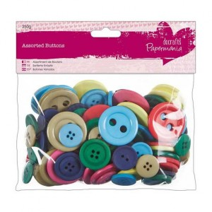 Набор пуговиц Brights Assorted Docrafts