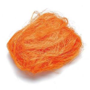 Джут окрашенный цвет Оранжевый от Knorr Prandell