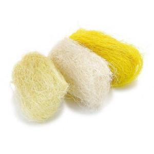 Набор сизалевого волокна цвет Желтый от Knorr Prandell