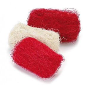 Набор сизалевого волокна цвет Красный от Knorr Prandell