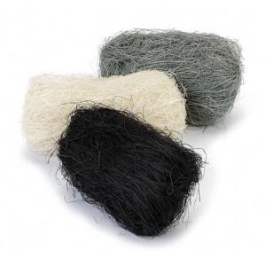 Набор сизалевого волокна цвет Черно-Серый от Knorr Prandell