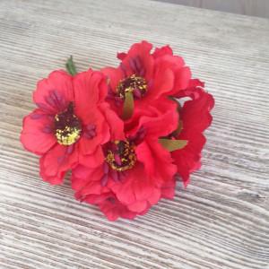 Букет цветов Мак цвет Красный