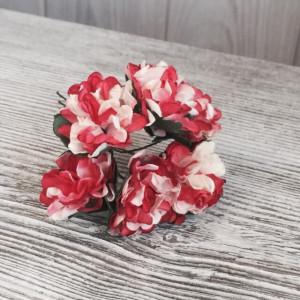 Букет хризантем цвет Бордо