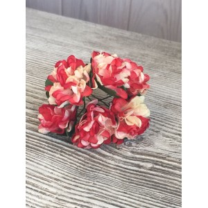 Букет хризантем цвет Коралловый
