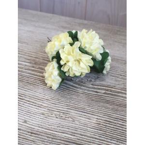 Букет хризантем цвет Кремовый