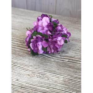 Букет хризантем цвет Сиреневый