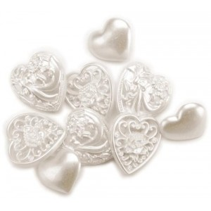 Набор пуговиц Hearts от Favorite Findings