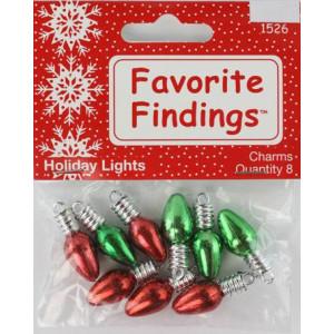 Набор пуговиц Holiday Lights от Favorite Findings
