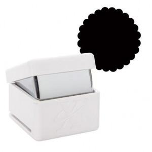 Дырокол фигурный  Круг с волнистыми краями  размер 2,5 см от Xcut
