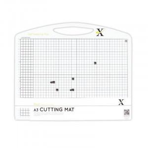 Мат для скрапбукинга двусторонний размер А3 цвет Черно-белый от Xcut