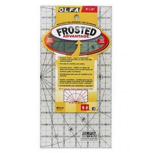 "Линейка с покрытием Frosted, 6""x12"" OLFA"