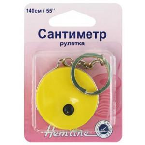 Сантиметр - рулетка с кольцом для ключей от Hemline