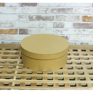 Коробка из картона круглая 17.8х7 см, Stamperia