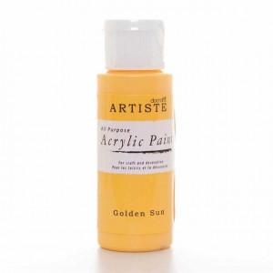 Краска акриловая ARTISTE цвет Golden Sun от DOCRAFTS