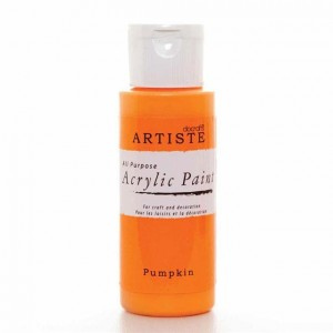 Краска акриловая ARTISTE цвет Pumpkin от DOCRAFTS