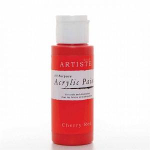 Краска акриловая ARTISTE цвет Cherry Red от DOCRAFTS