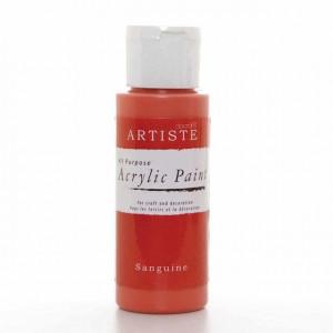 Краска акриловая ARTISTE цвет Sanguine от DOCRAFTS