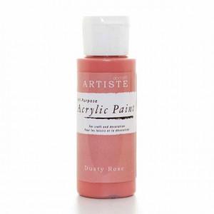 Краска акриловая ARTISTE цвет Dusty Rose от DOCRAFTS