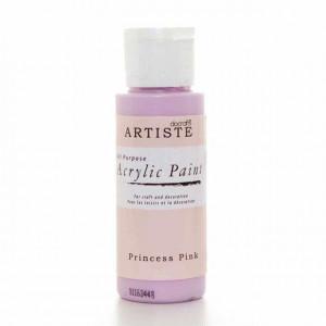 Краска акриловая ARTISTE цвет Princess Pink от DOCRAFTS