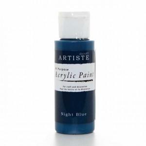 Краска акриловая ARTISTE цвет Night Blue от DOCRAFTS