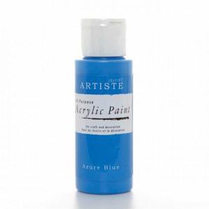 Краска акриловая ARTISTE цвет Azure Blue от DOCRAFTS
