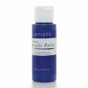 Краска акриловая ARTISTE цвет Royal Blue от DOCRAFTS