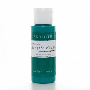 Краска акриловая ARTISTE цвет Conifer Green от DOCRAFTS