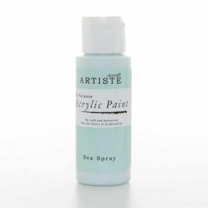 Краска акриловая ARTISTE цвет Sea Spray от DOCRAFTS