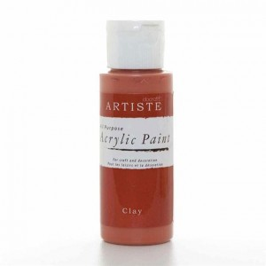 Краска акриловая ARTISTE цвет  Clay от DOCRAFTS