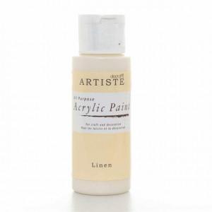 Краска акриловая ARTISTE цвет Linen от DOCRAFTS