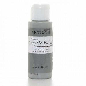 Краска акриловая ARTISTE цвет Dark Grey от DOCRAFTS