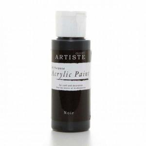 Краска акриловая ARTISTE цвет Noir от DOCRAFTS