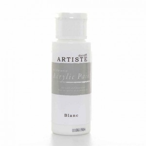 Краска акриловая ARTISTE Blanc DOCRAFTS