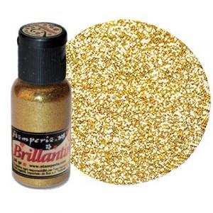 Микроблёстки цвет Cветло-Золотой от Stamperia