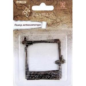 Рамка металлическая Бабочки от Рукоделия