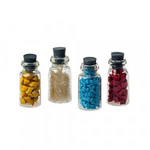 Набор 4 баночки с разноцветным содержимым от Art of Mini