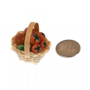 Плетеная корзинка с грибами от Art of Mini
