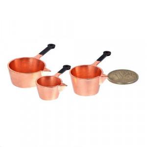 Набор металлической посуды Ковшики от Art of Mini