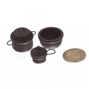 Набор чугунной посуды 3 предмета от Art of Mini