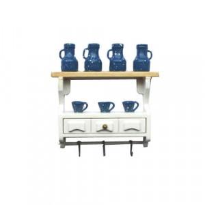 Полочка кухонная с посудой от Art of Mini