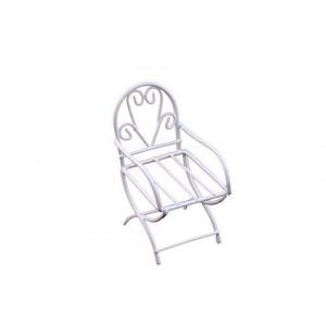 Металлический мини стул белый от ScrapBerry's