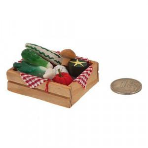 Овощи в деревянном ящичке от Art of Mini