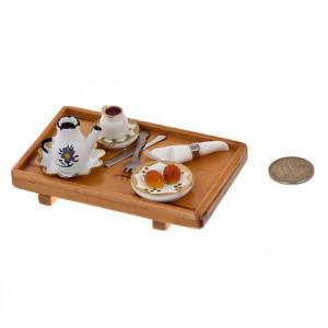 Поднос накрытый для чаепития от Art of Mini