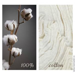 Наполнитель 100% хлопок Simply Cotton, ширина 228 см, FiberCo