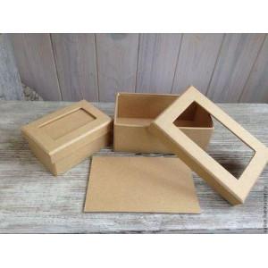 Заготовка для декупажа набор прямоугольных коробочек от Efco