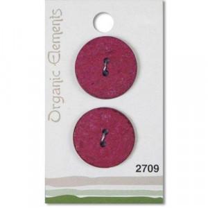 Пуговица Red 2709 Organic Elements