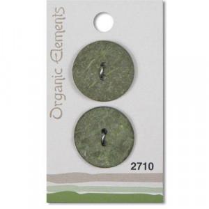 Пуговица Green 2710 Organic Elements