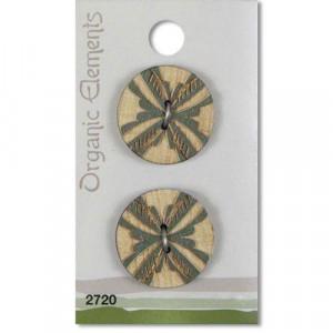 Пуговица Green 2720 Organic Elements
