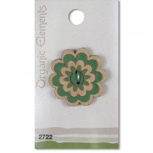 Пуговица Green 2722 Organic Elements